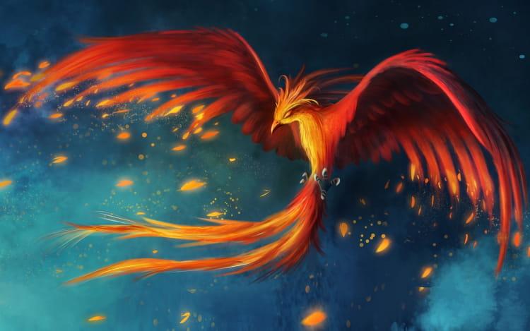 Феникс в мифологии