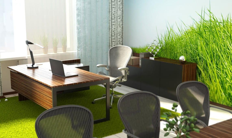 Расположение рабочих мест в офисе