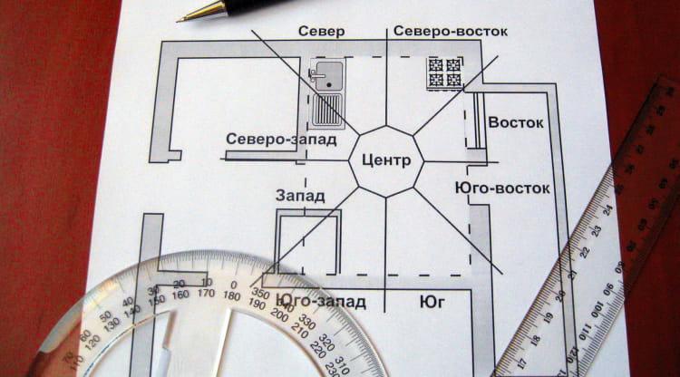 Сектора в доме