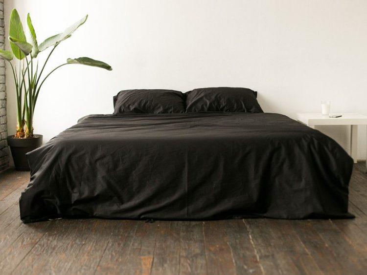 Черное постельное