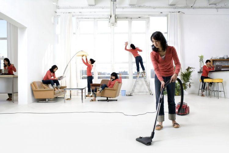 Чистота в помещении