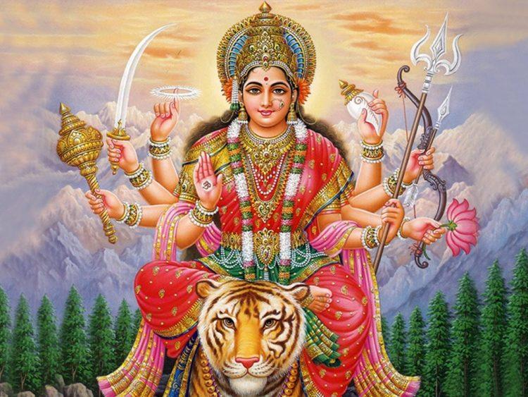 Дурга - супруга Шивы