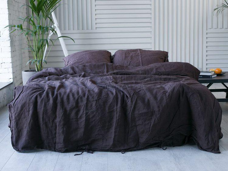 Фиолетовое постельное