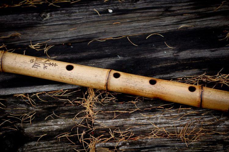 Флейта из бамбука
