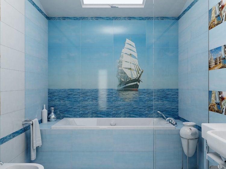 Корабль в интерьере