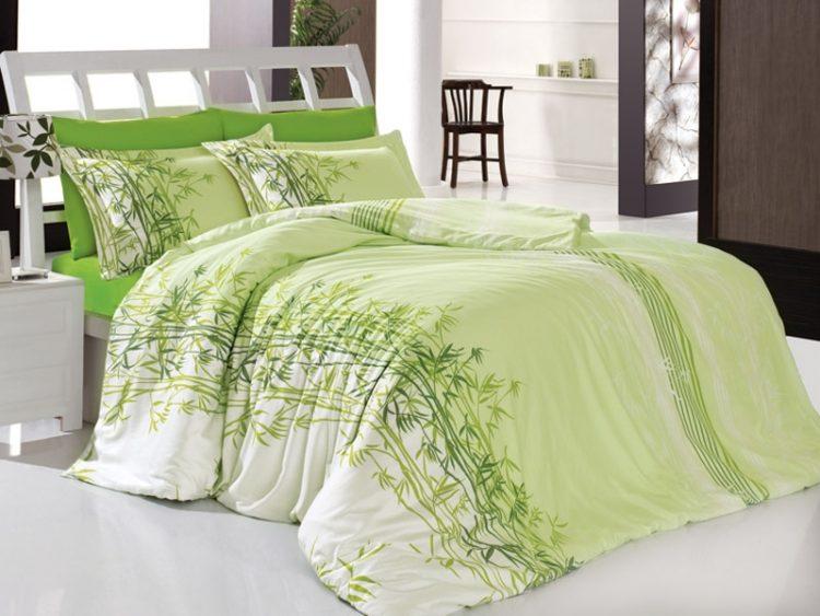 Зеленое постельное