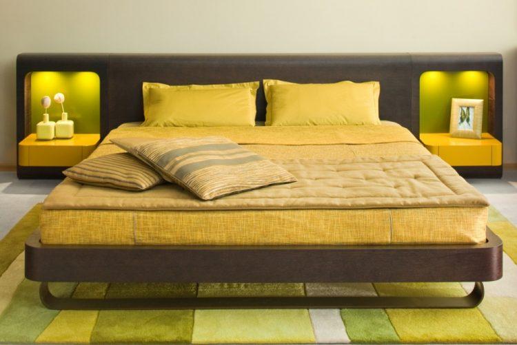 Желтое постельное