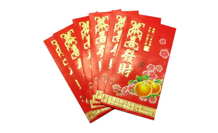 Набор золотых конвертов